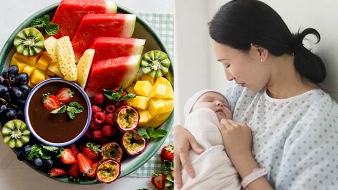 Mẹ sau sinh cần được cung cấp đầy đủ chất dinh dưỡng