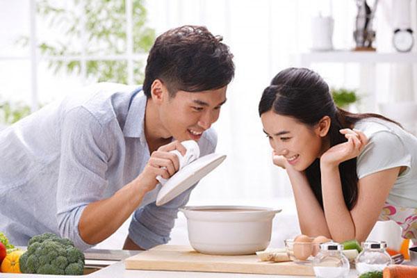 Chế độ dinh dưỡng sinh con trai
