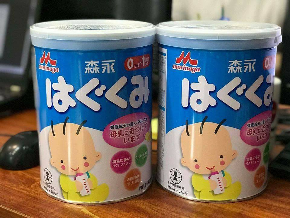 các loại sữa giúp trẻ không bị táo bón