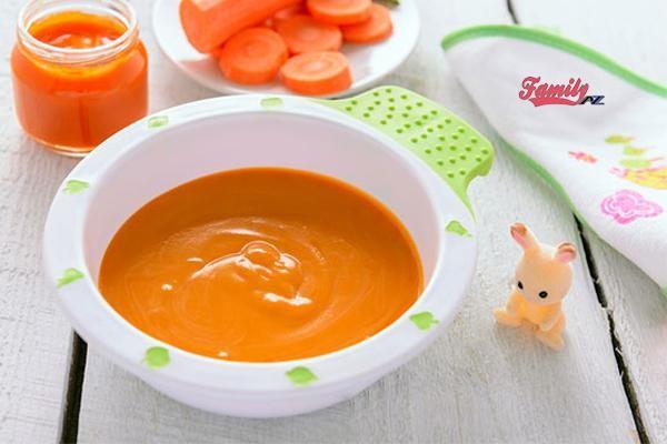 nấu bột ăn dặm cho trẻ 6 tháng tuổi